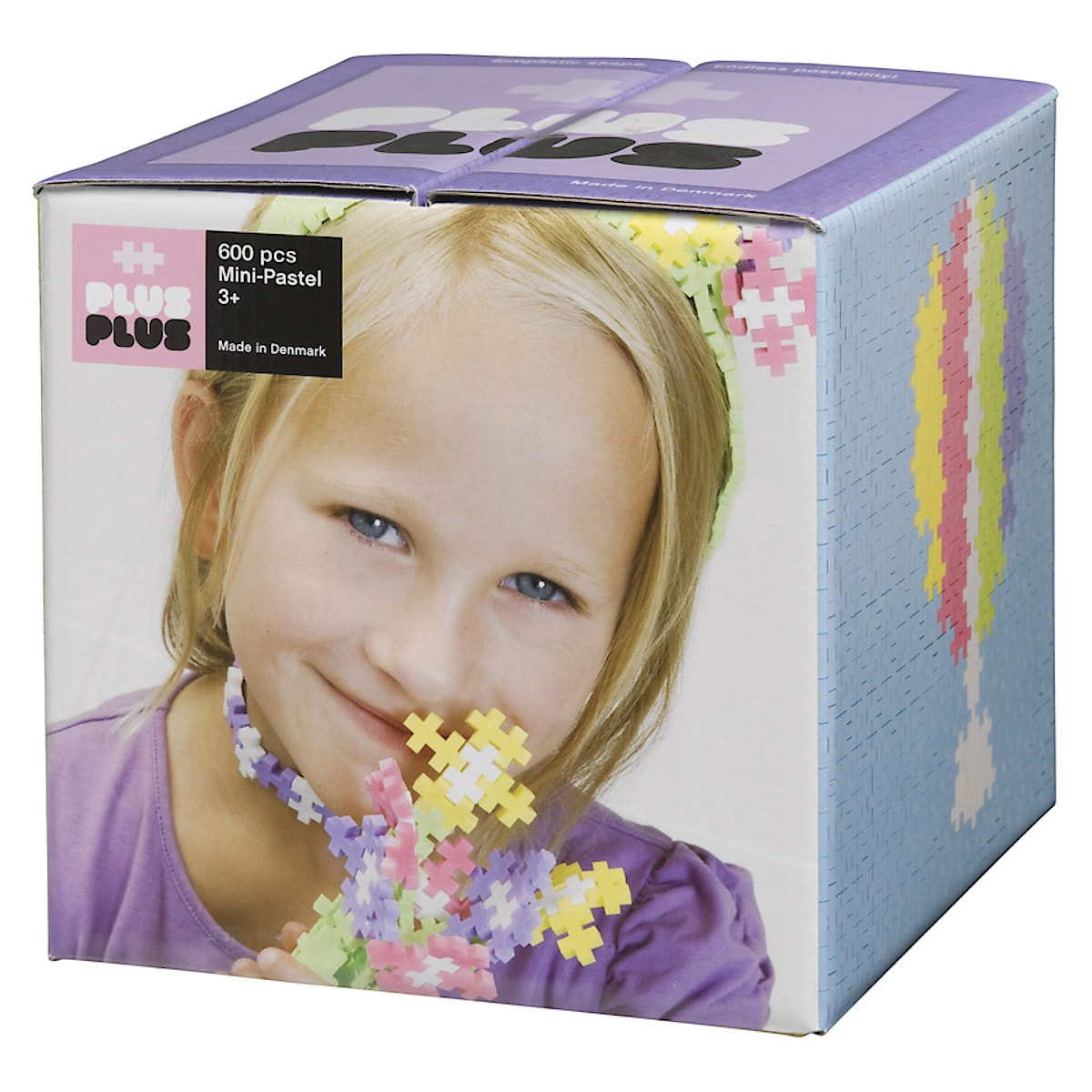 Rakennuspalikat Plus-Plus Mini Pastel