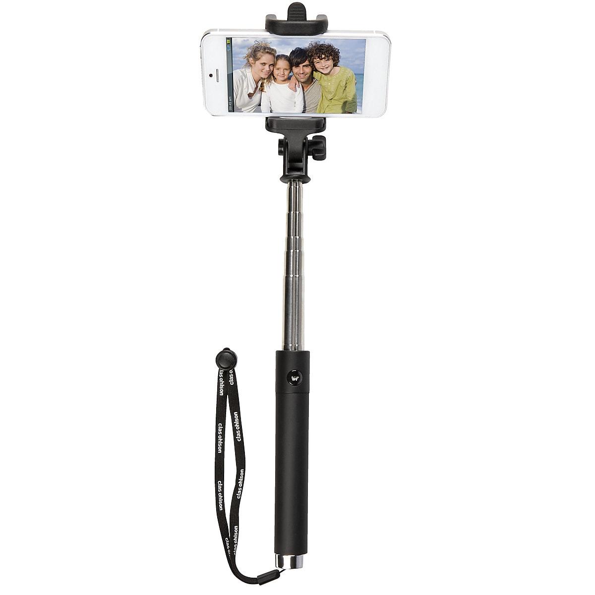 Selfiepinne med fjärrutlösare