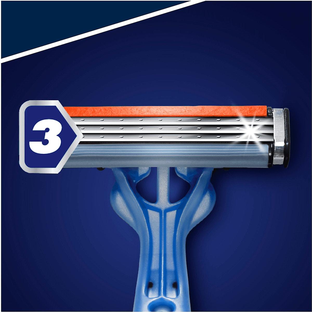 Rakhyvlar Gillette Blue 3, 10-pack