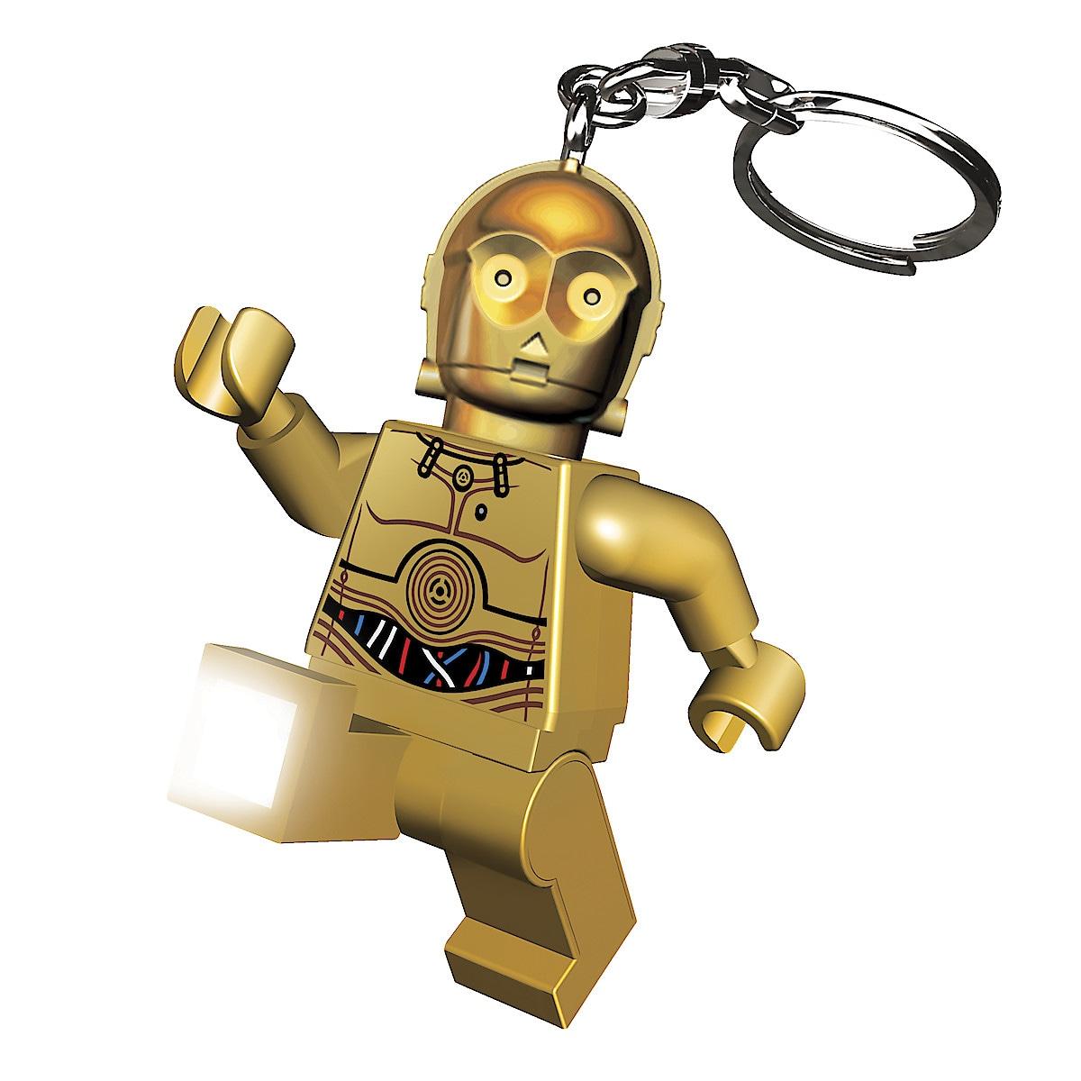 Lego C-3PO nøkkelringlykt