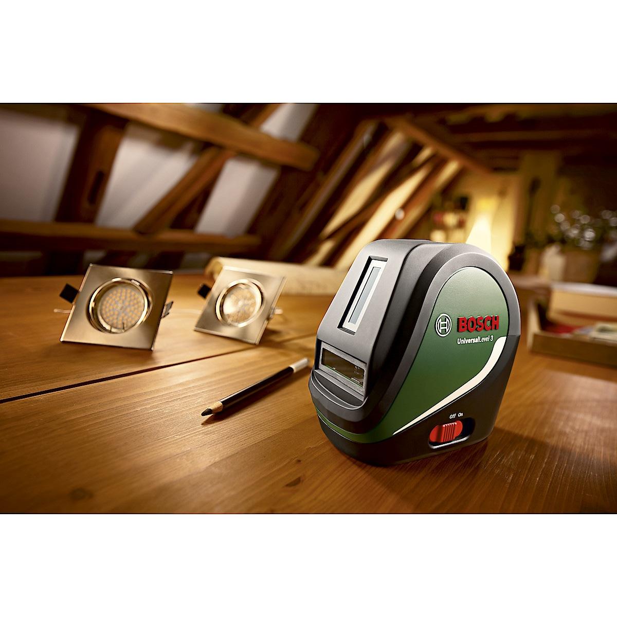 Ristilaser Bosch UniversalLevel 3