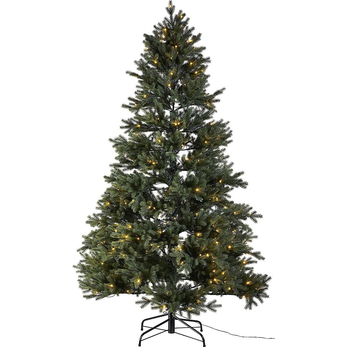 Julgran med inbyggd belysning, 210 cm Northlight