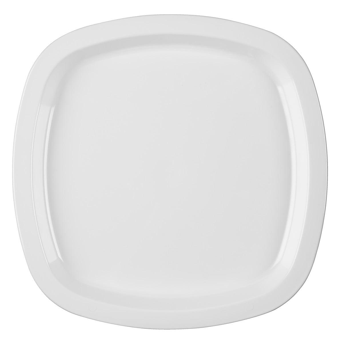 Plasttallrik flat 24 cm