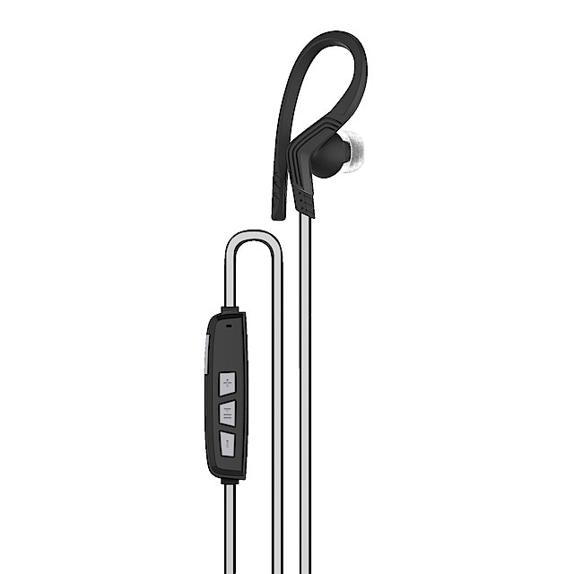 Wireless Sports Headphones with Microphone | Clas Ohlson