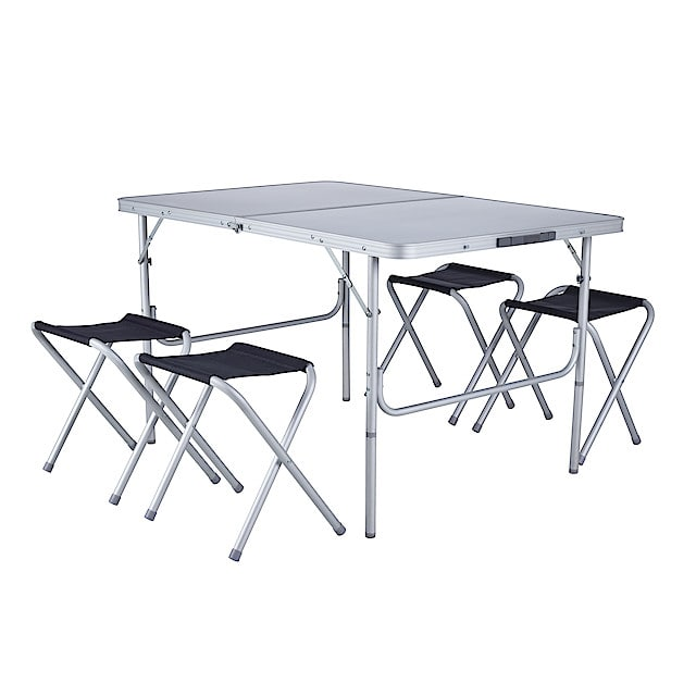 Camping Table And Chairs.Asaklitt Camping Table With Chairs Clas Ohlson