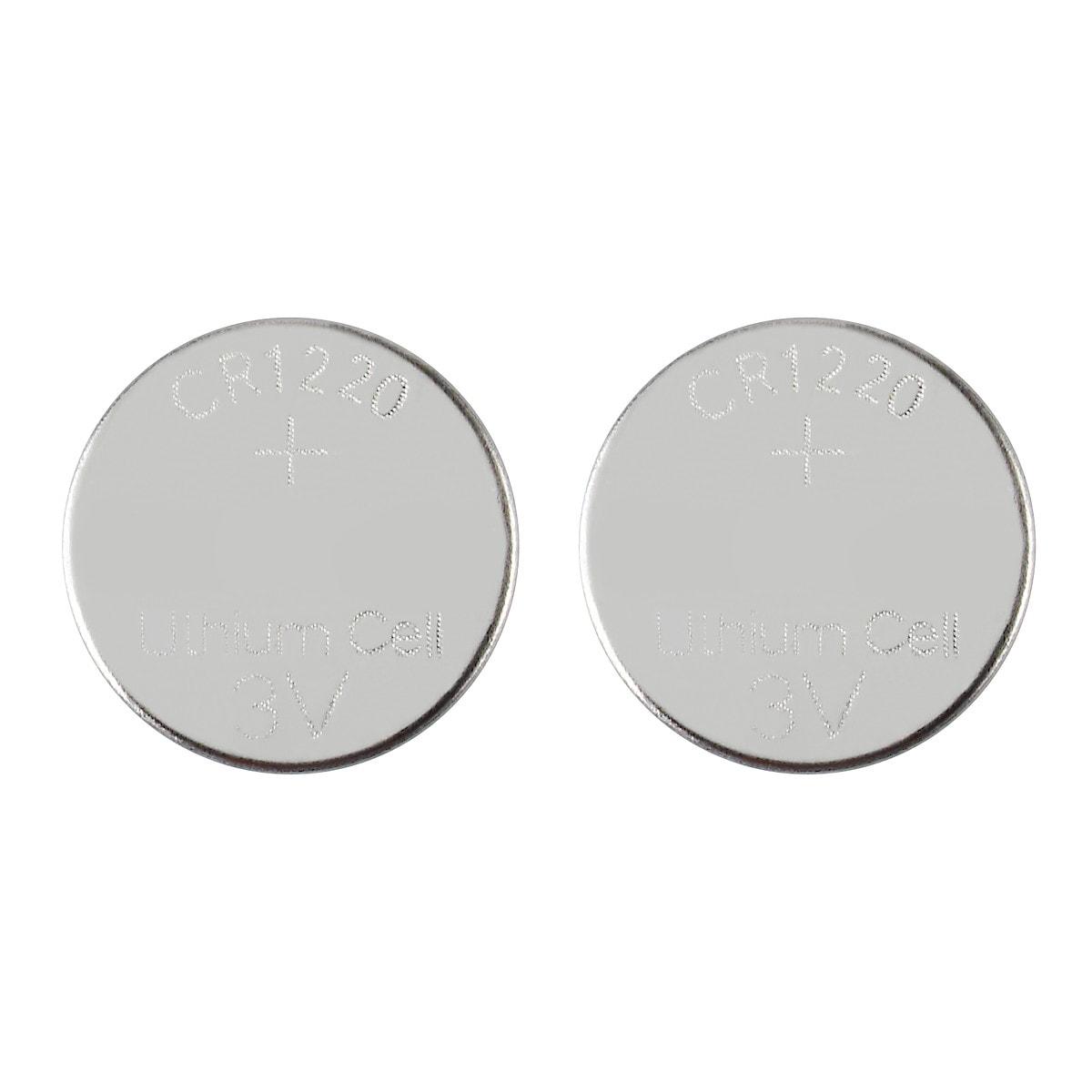 Knappcellebatterier CR1220, 2-pack