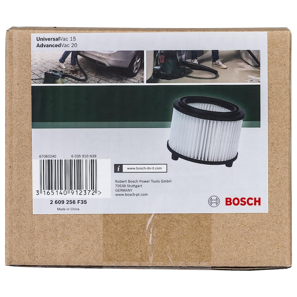 Poimusuodatin Boschin kuiva- ja märkäimureihin