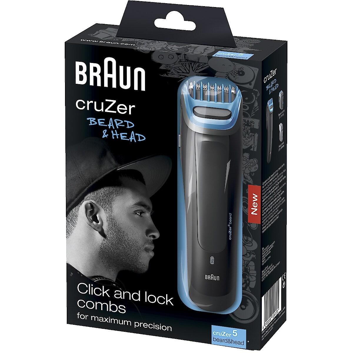 Skäggtrimmer Braun CruZer 5 Beard & Head