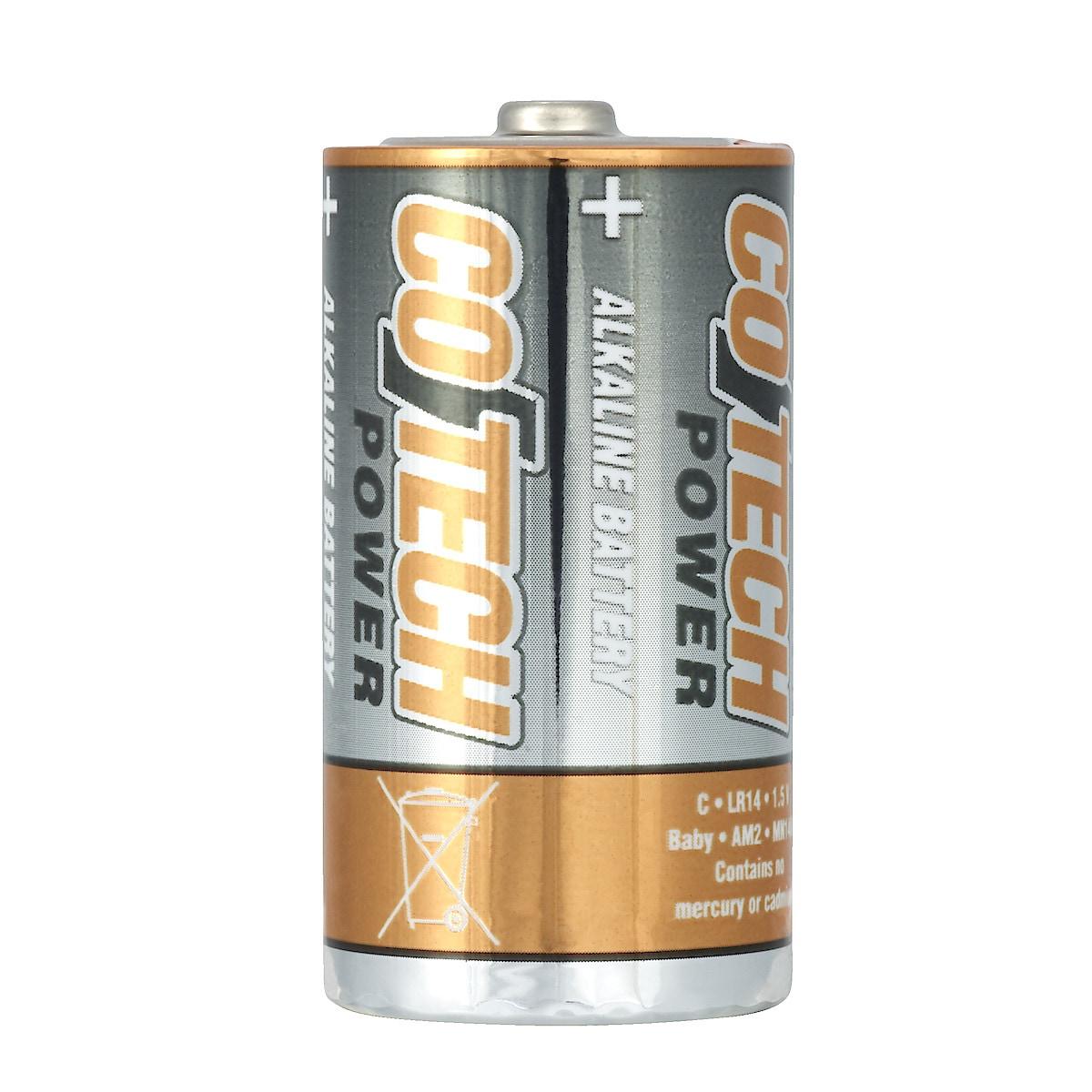 Alkalisk batteri C/LR14 Cotech