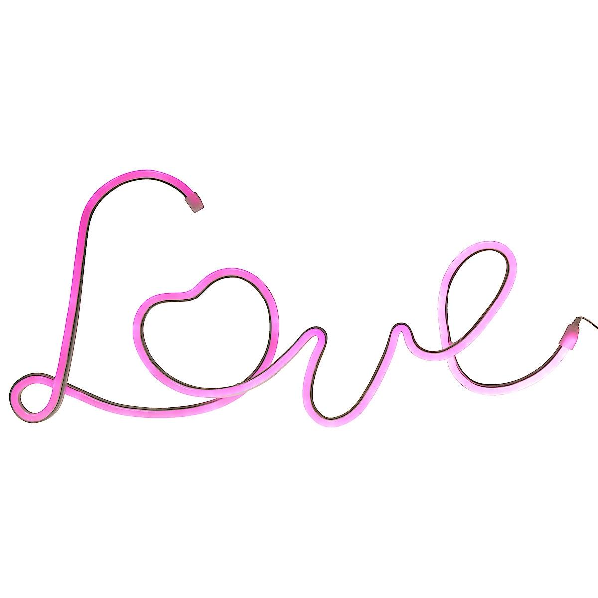 Dekorationsbelysning Love