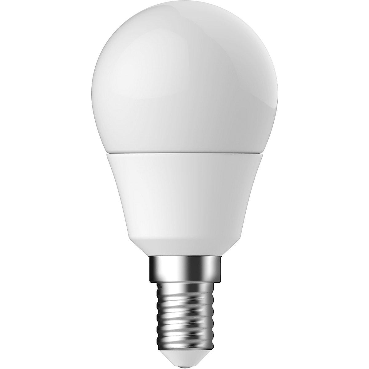 Klotlampa LED kallvit E14 Clas Ohlson
