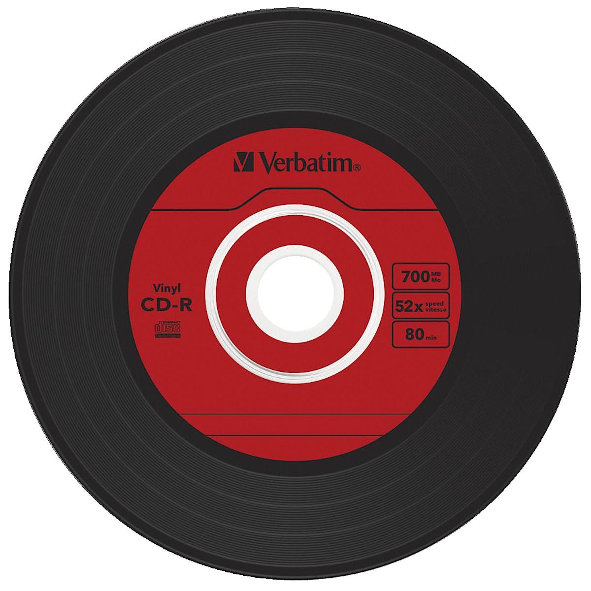 Verbatim Vinyl, LP/CD-R-plate