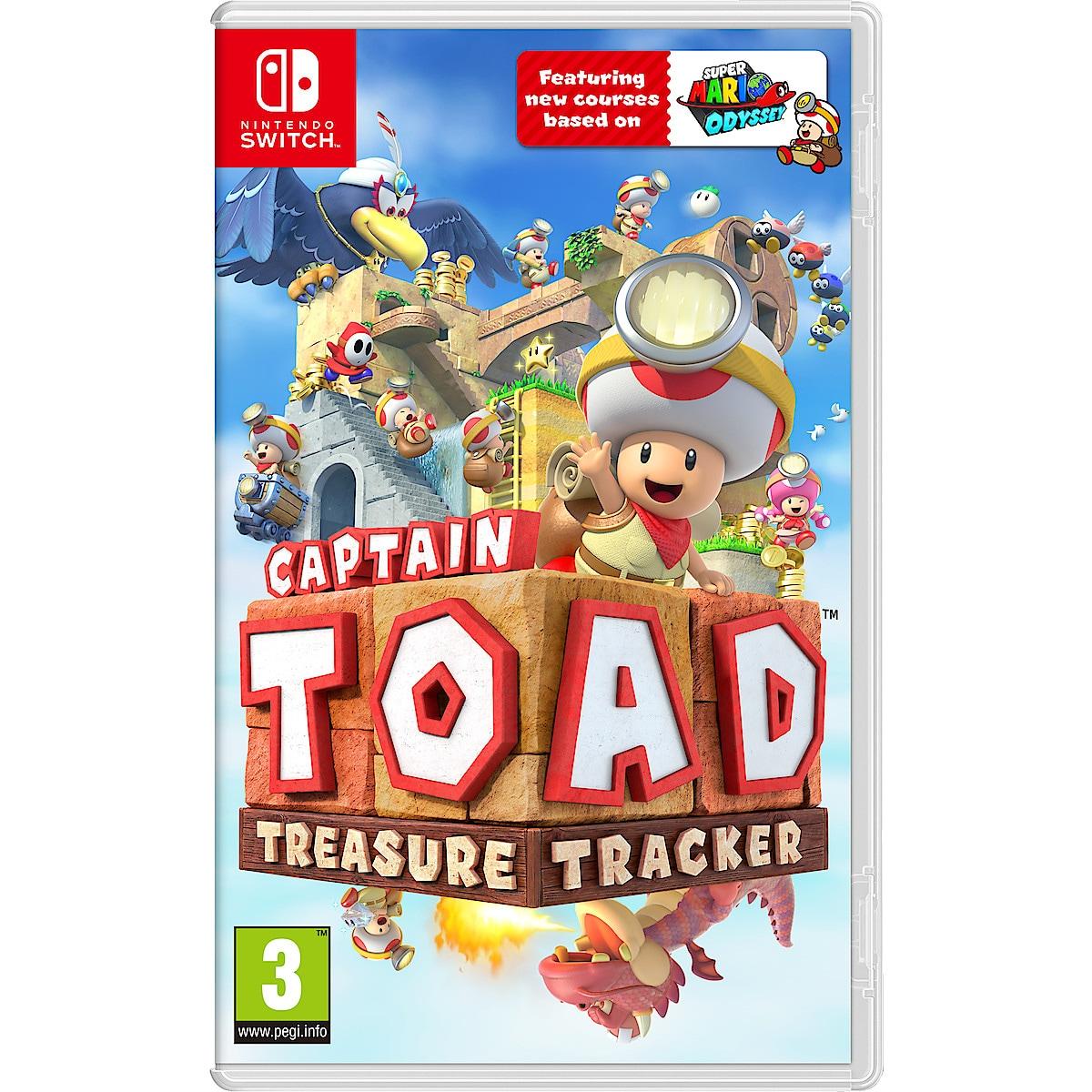 Treasure Tracker Captain Toad. Spel till Nintendo Switch