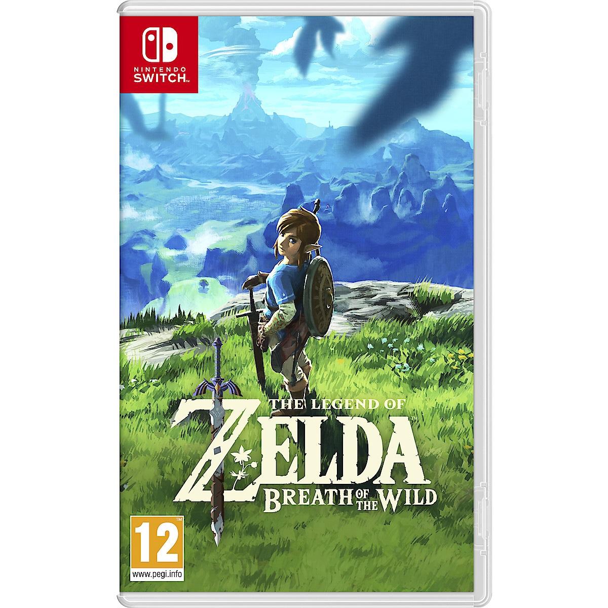 Zelda Breath of the Wild, The Legend of Zelda. Nintendo Switch -peli