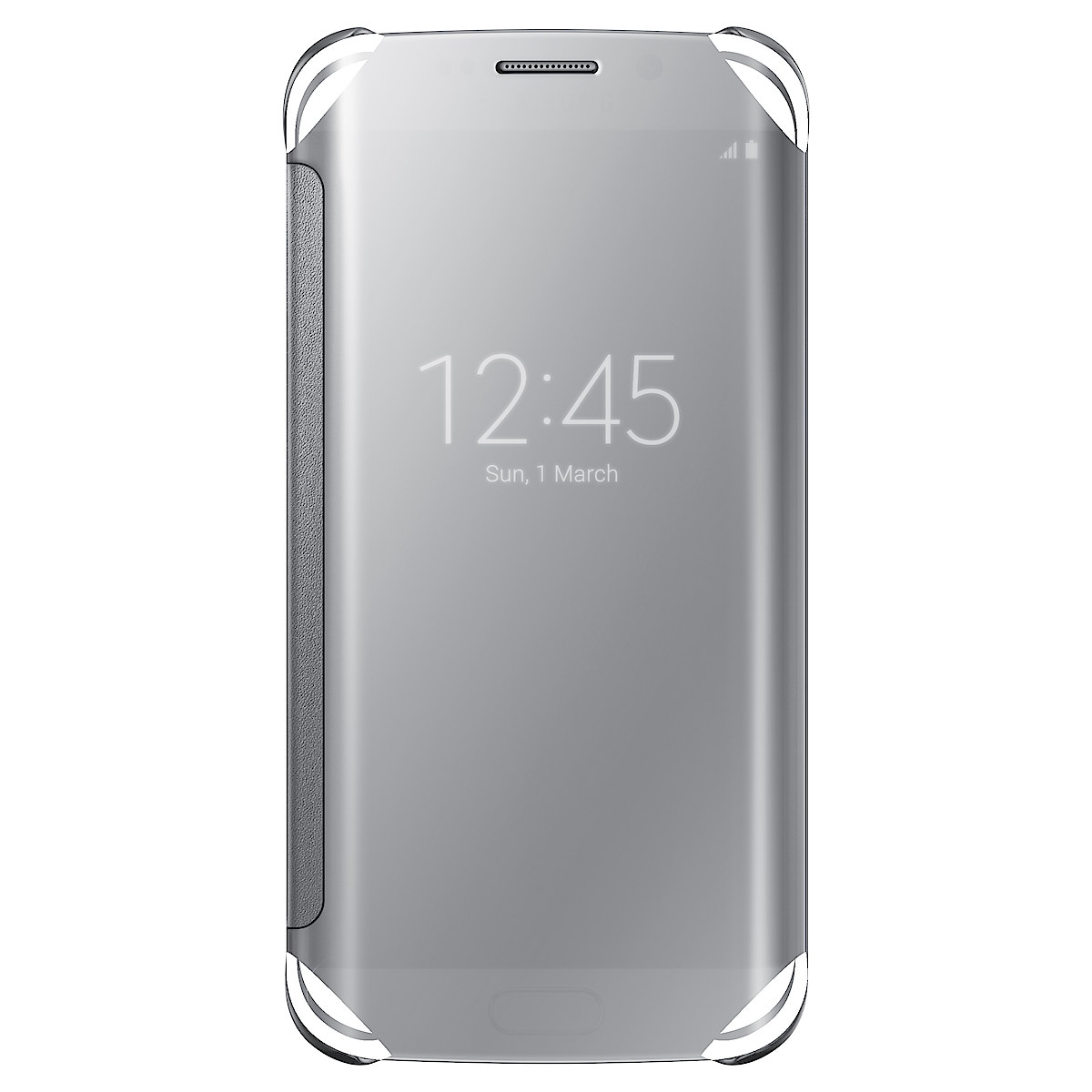 Clear-View Cover flipcase for Samsung Galaxy S6 Edge