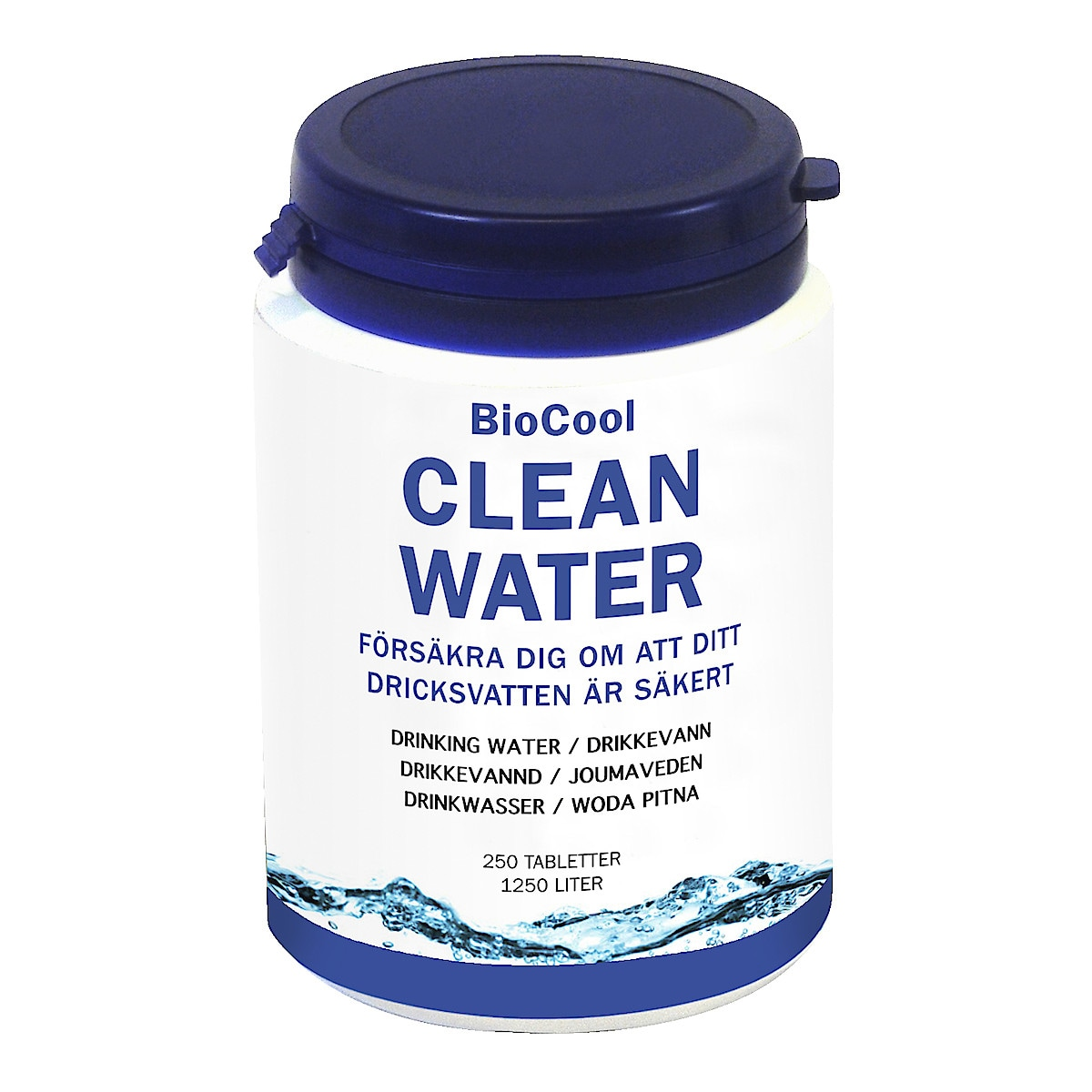 BioCool Clean Water tabletter for desinfisering