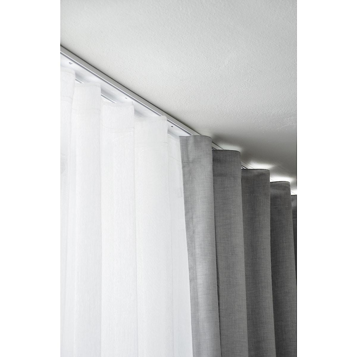 Hotellskinne dobbel, 200 cm