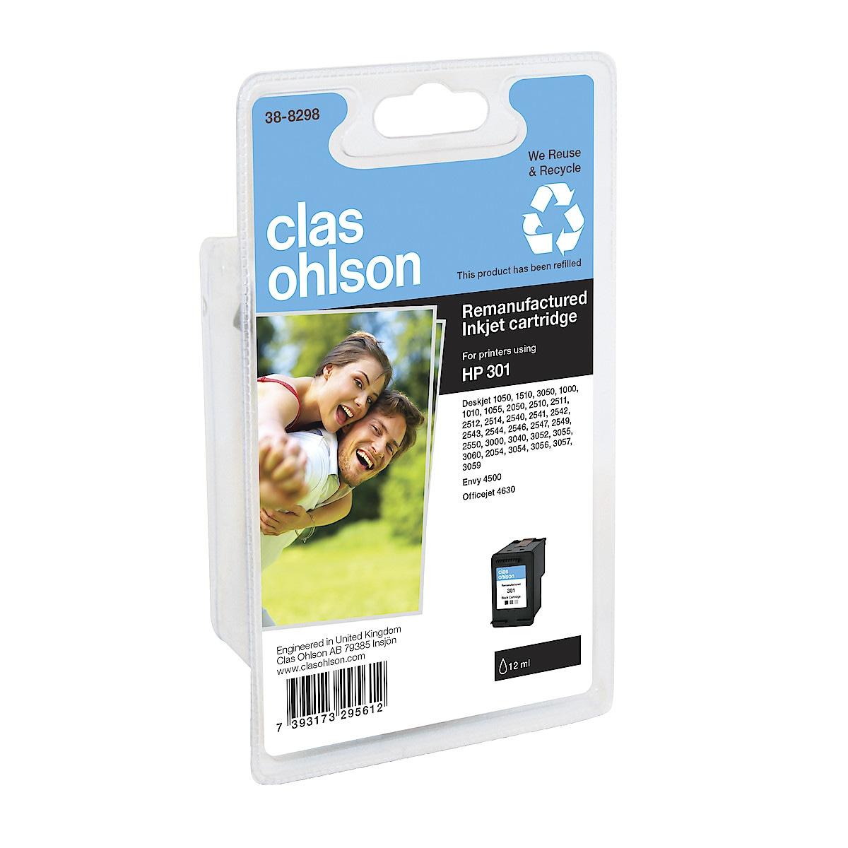 Bläckpatron HP 301 Clas Ohlson