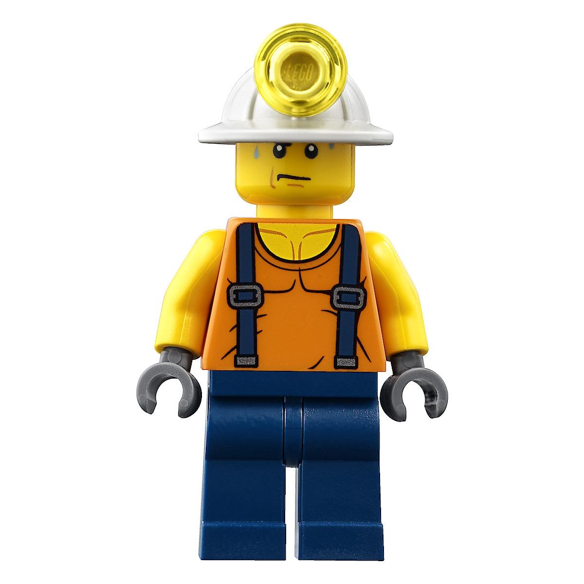 LEGO City Bergbau 60184, Bergbauteam