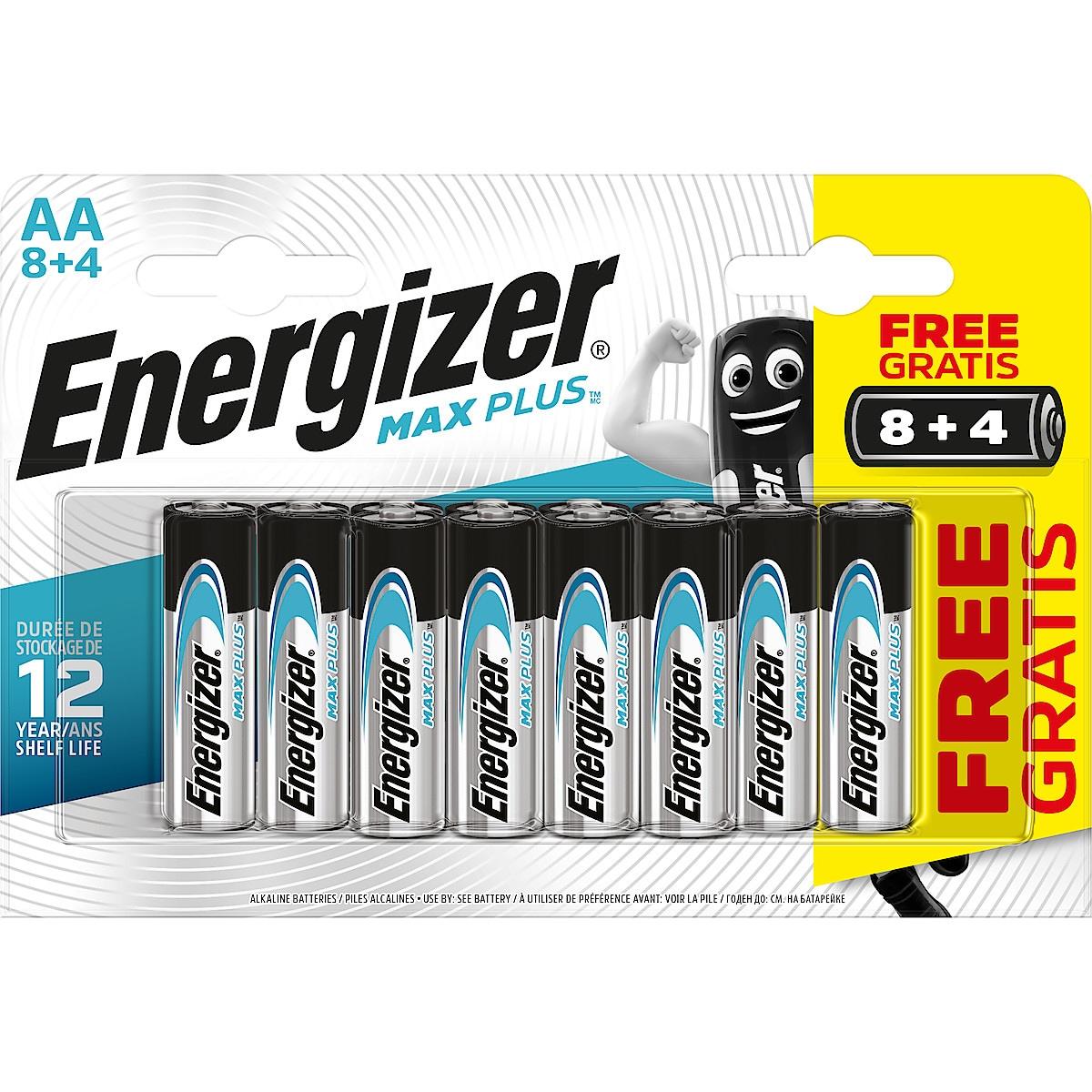 Alkaliparisto AA/LR6 Energizer Max Plus