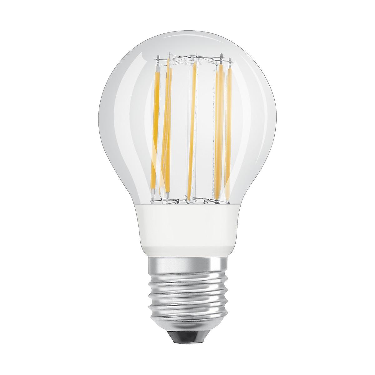 Dimbar normallampa Retrofit LED kallvit E27 Osram