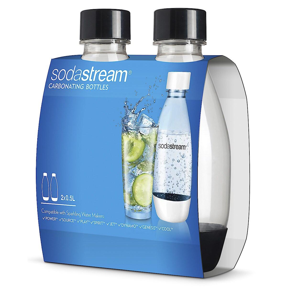 SodaStream Fuse black 0,5 l PET-flaske