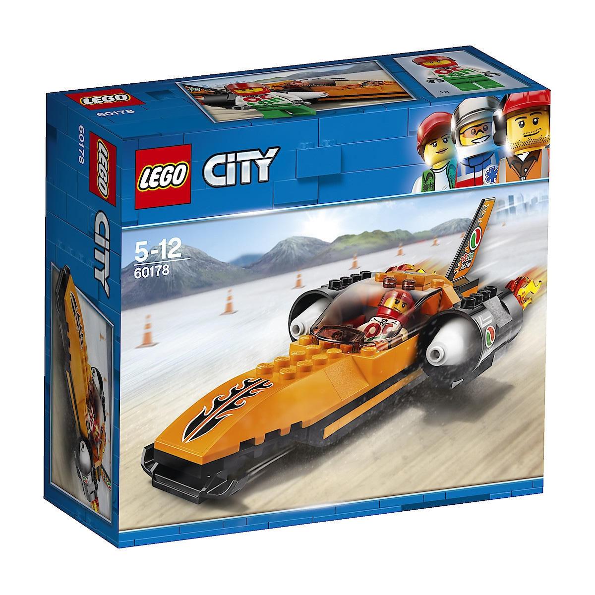 LEGO City Great Vehicles 60178, superraskt kjøretøy