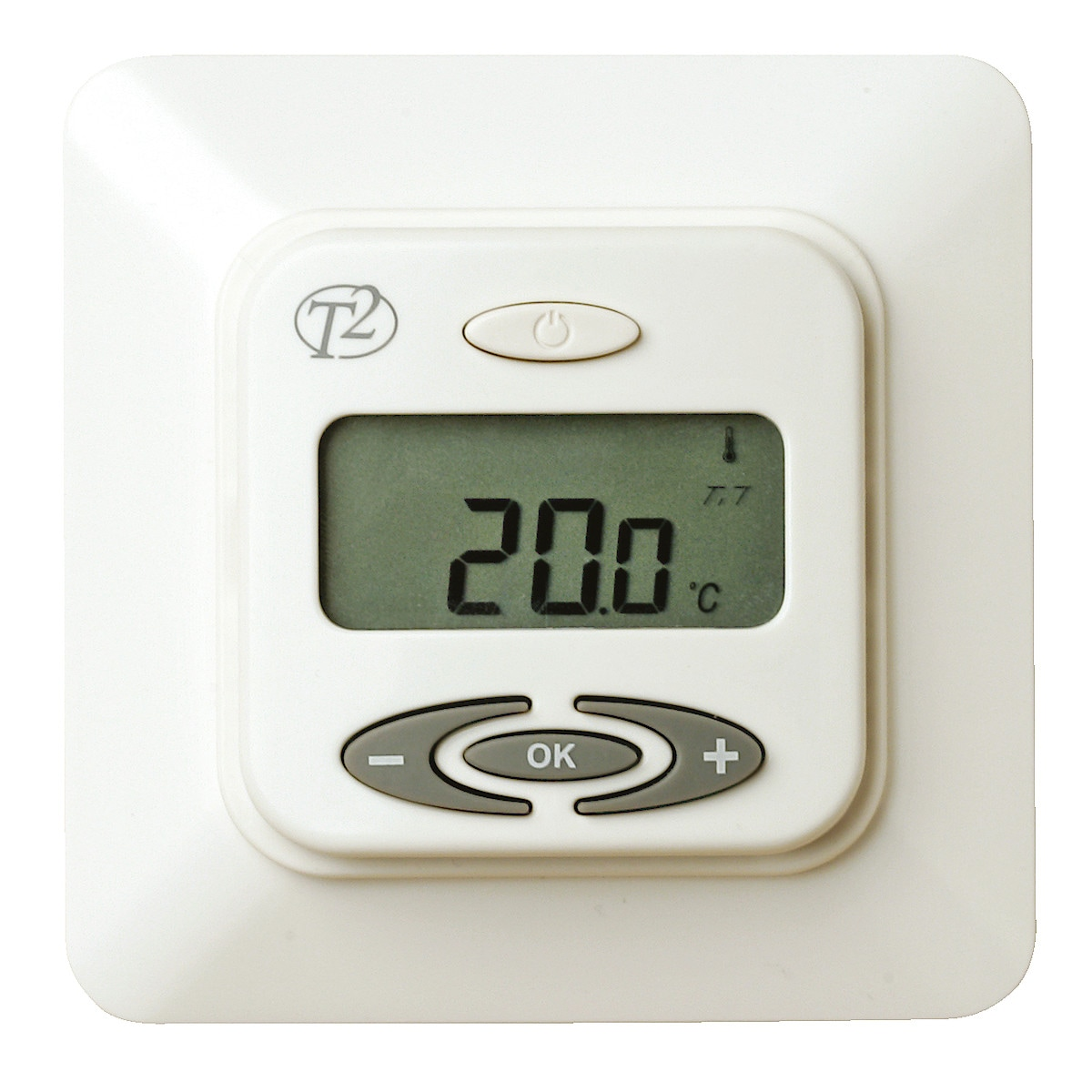 Termostat, T2FloorTemp Plusº for gulvvarme