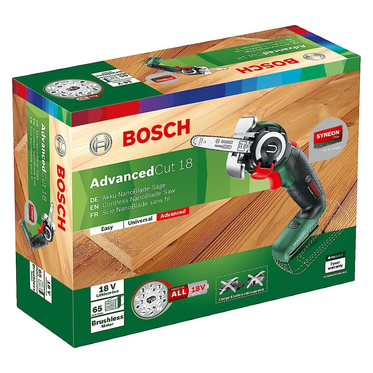 Bosch AdvancedCut 18 multisag