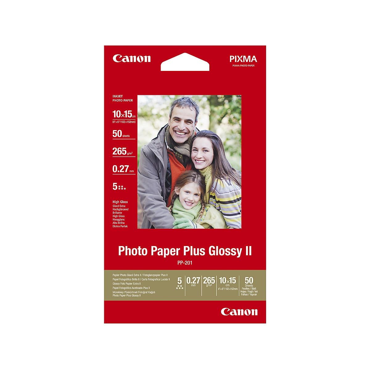 Fotopapper Canon Plus II PP-201, Glossy