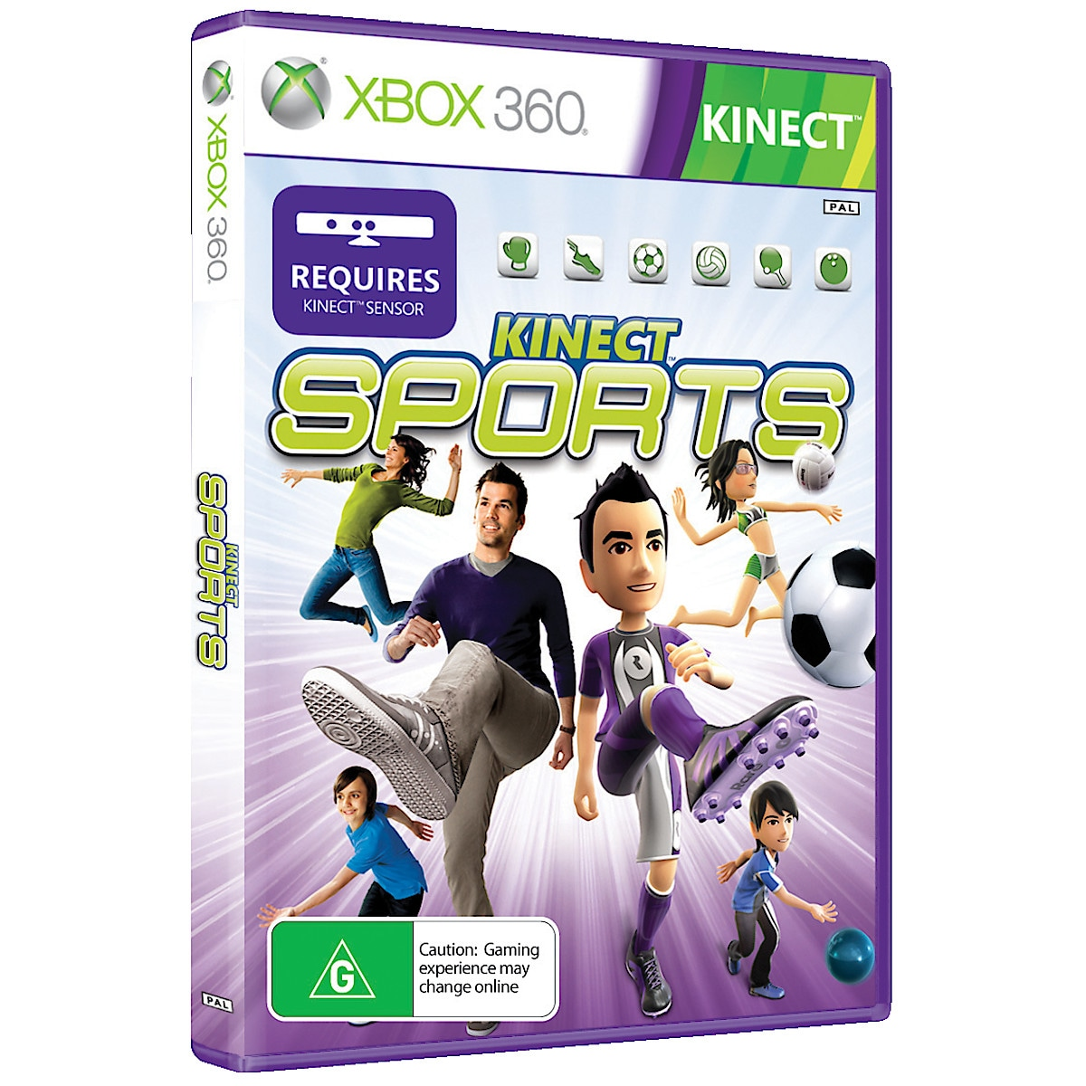 Xbox 360-spill Kinect Sports