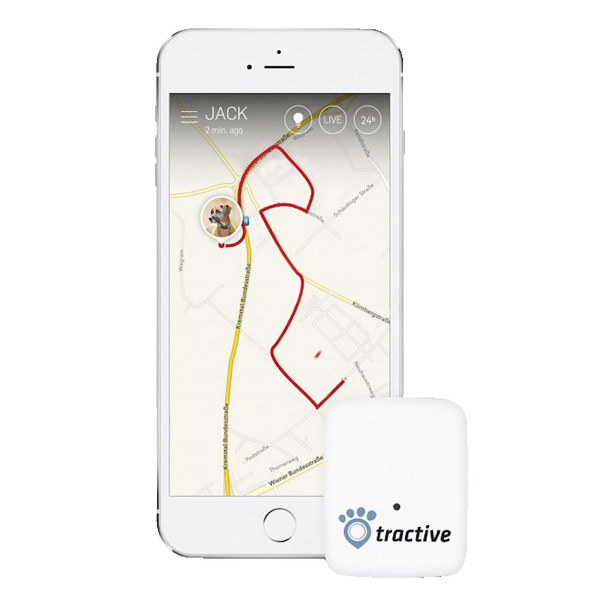 GPS-paikannin lemmikeille, Tractive GPS