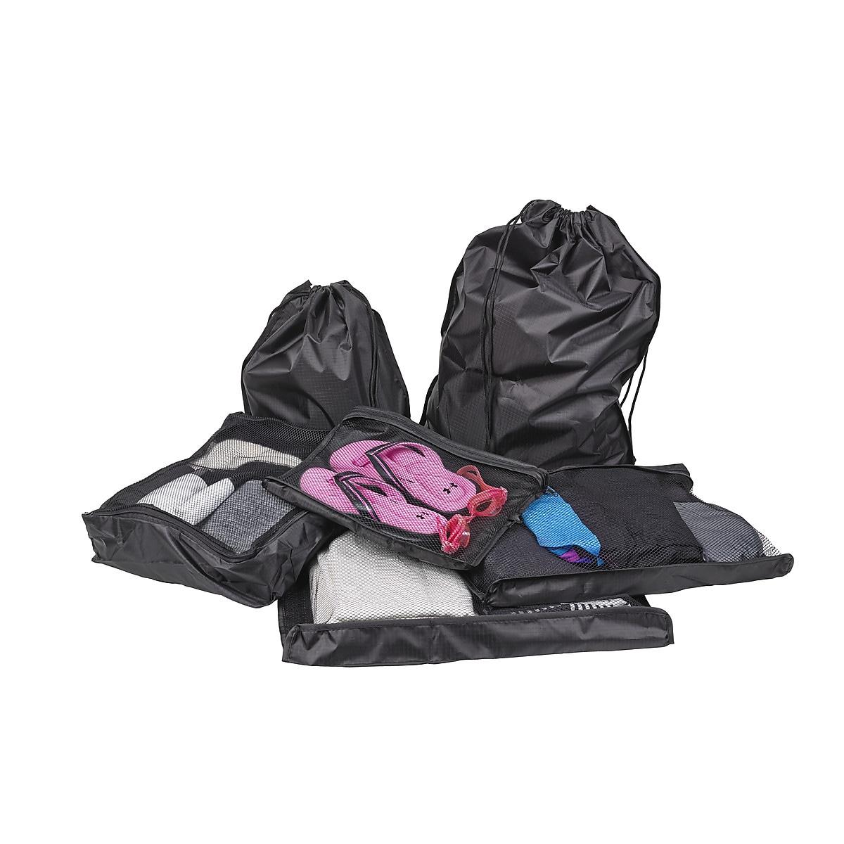 Förvaringspåsar 6-pack, Asaklitt