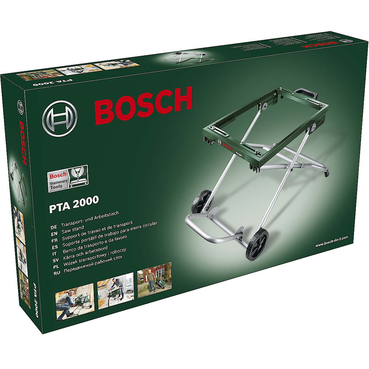 Sahausteline Bosch PTA 2000