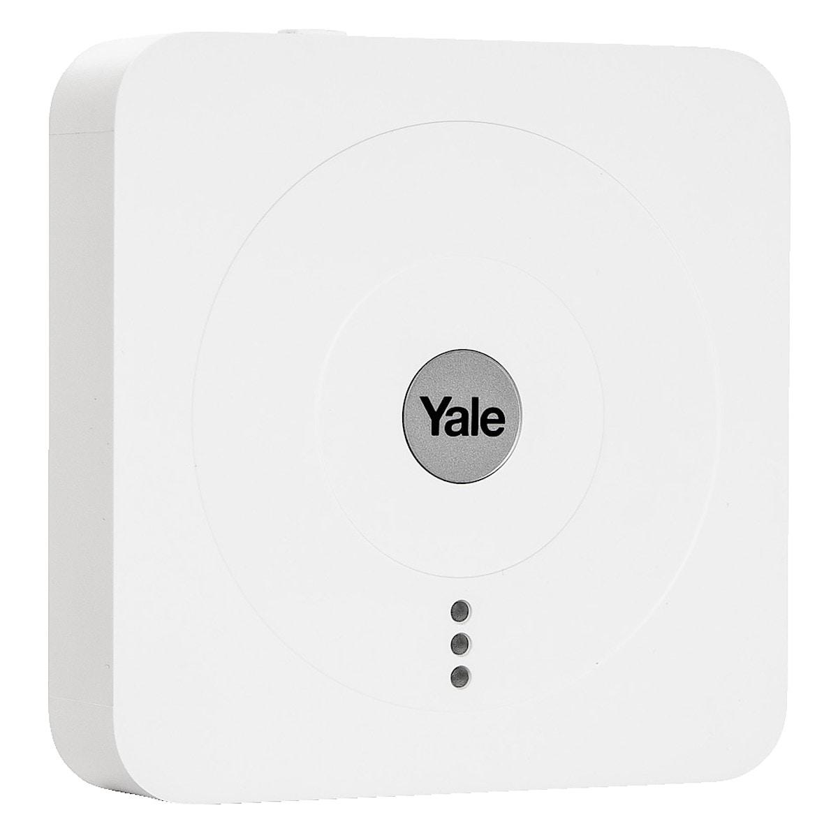 Yale Smart Living startpaket, hub + låsmodul
