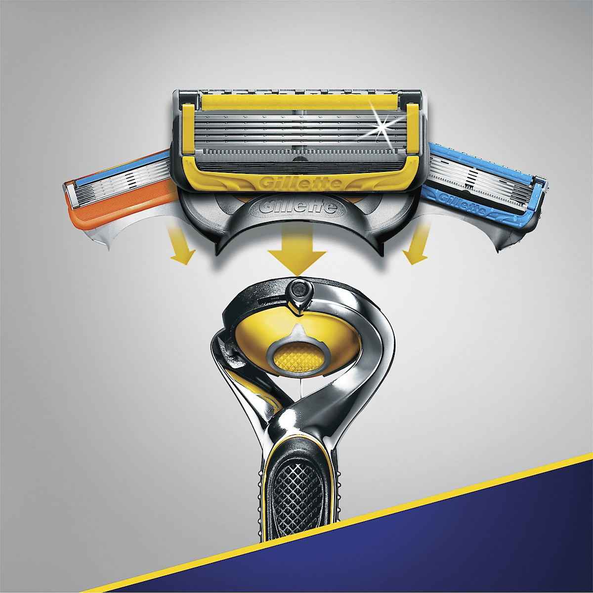 Rakhyvel Gillette Fusion ProShield Yellow
