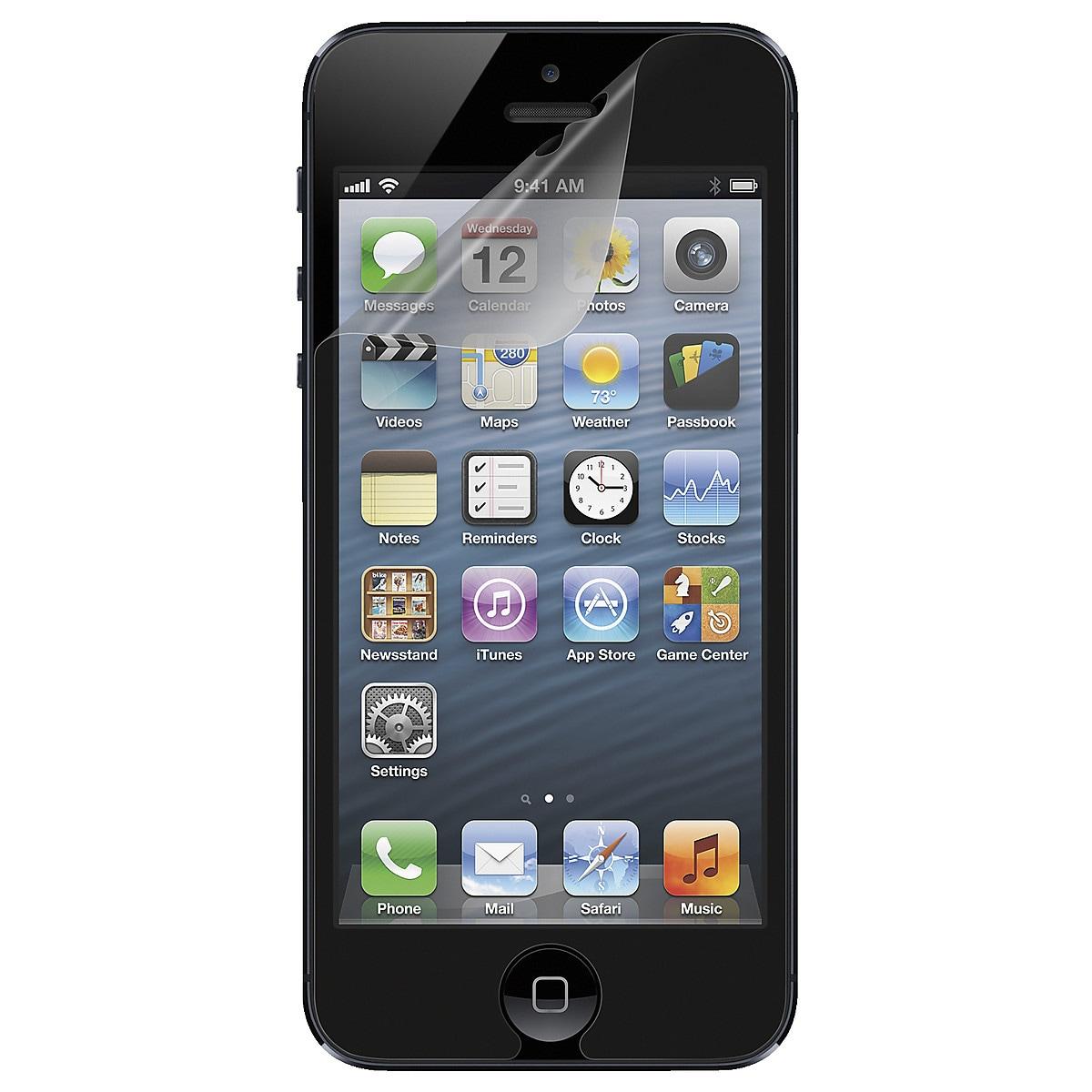 Näytönsuoja iPhone 5/5S/5C/SE, Belkin TrueClear Protector