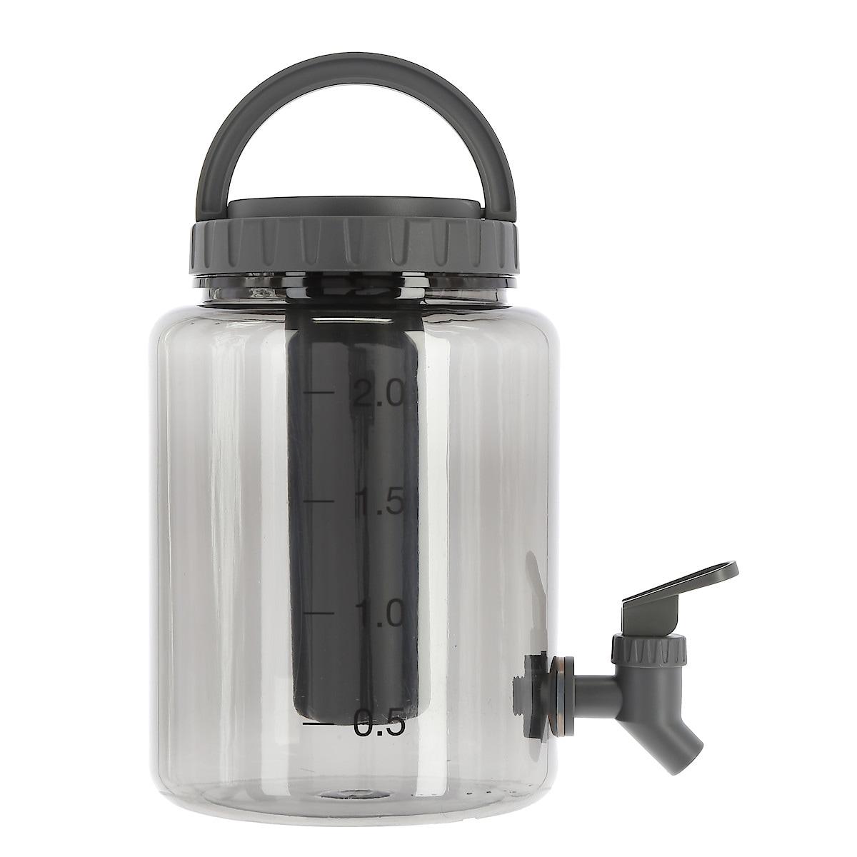Dryckesbehållare med kylblock