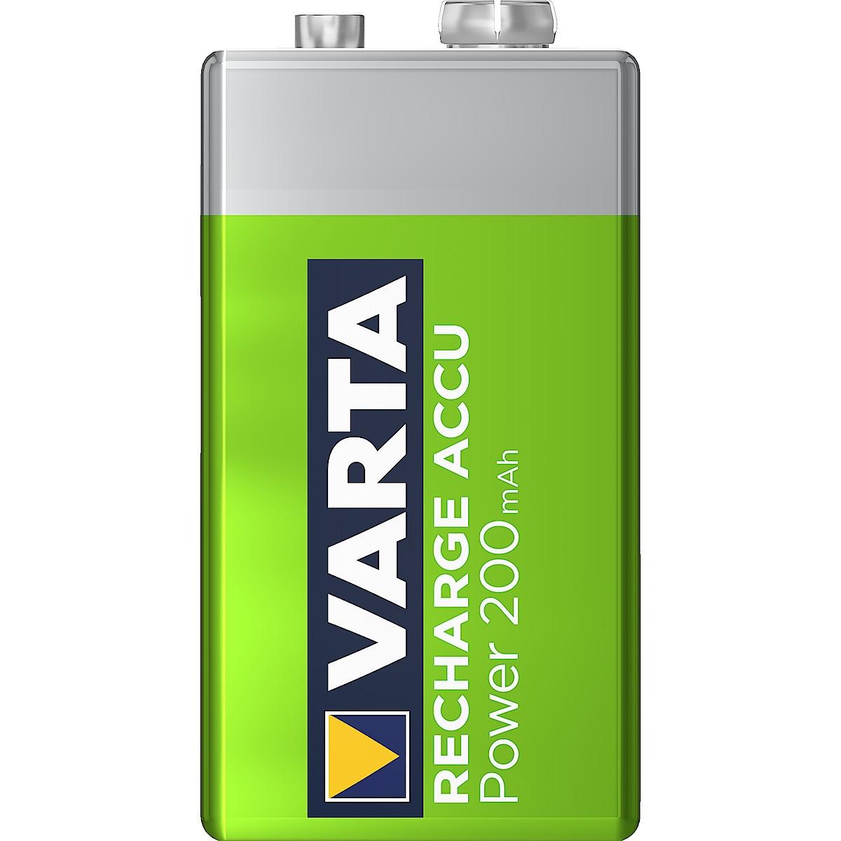 Laddningsbart batteri 9 V VARTA Ready2Use