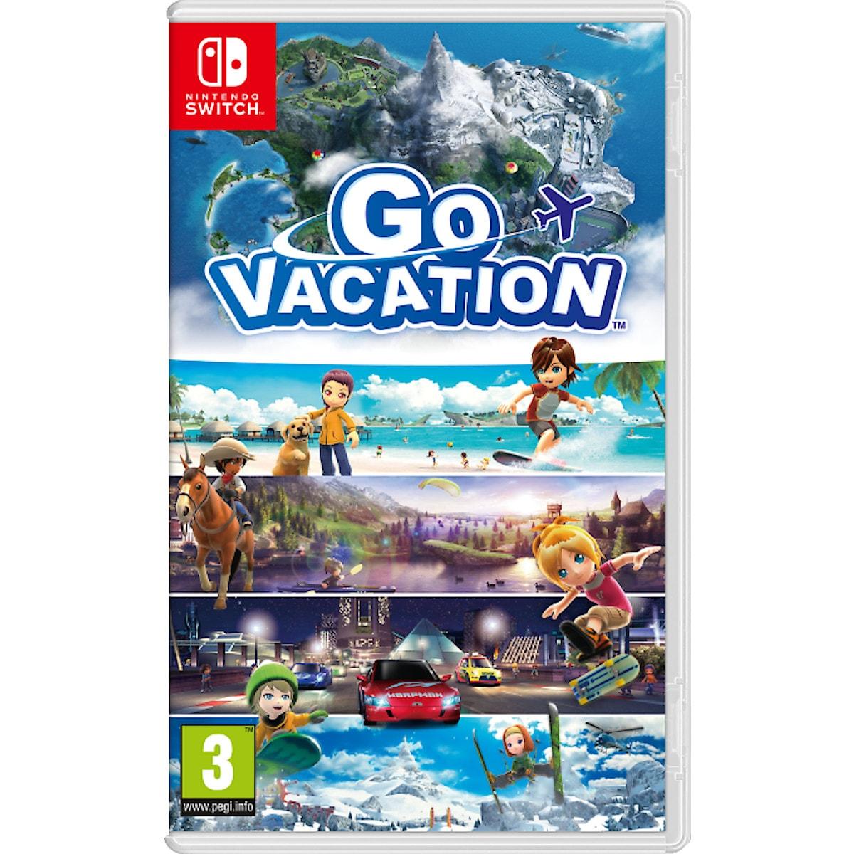 Go Vacation spel till Nintendo Switch