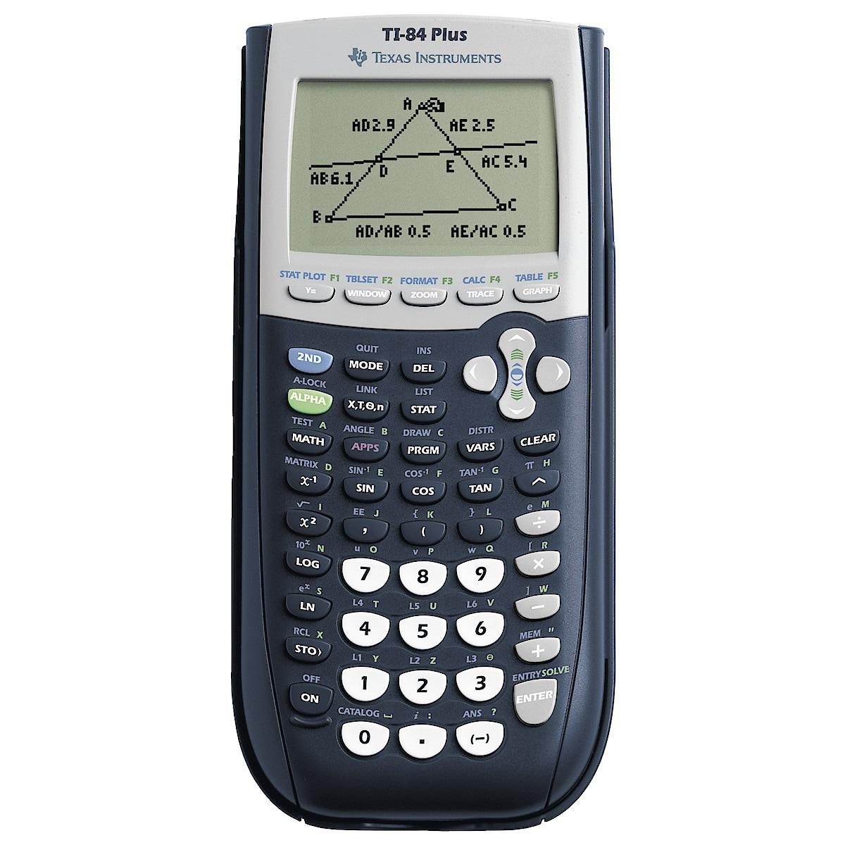 Texas TI-84 Plus kalkulator