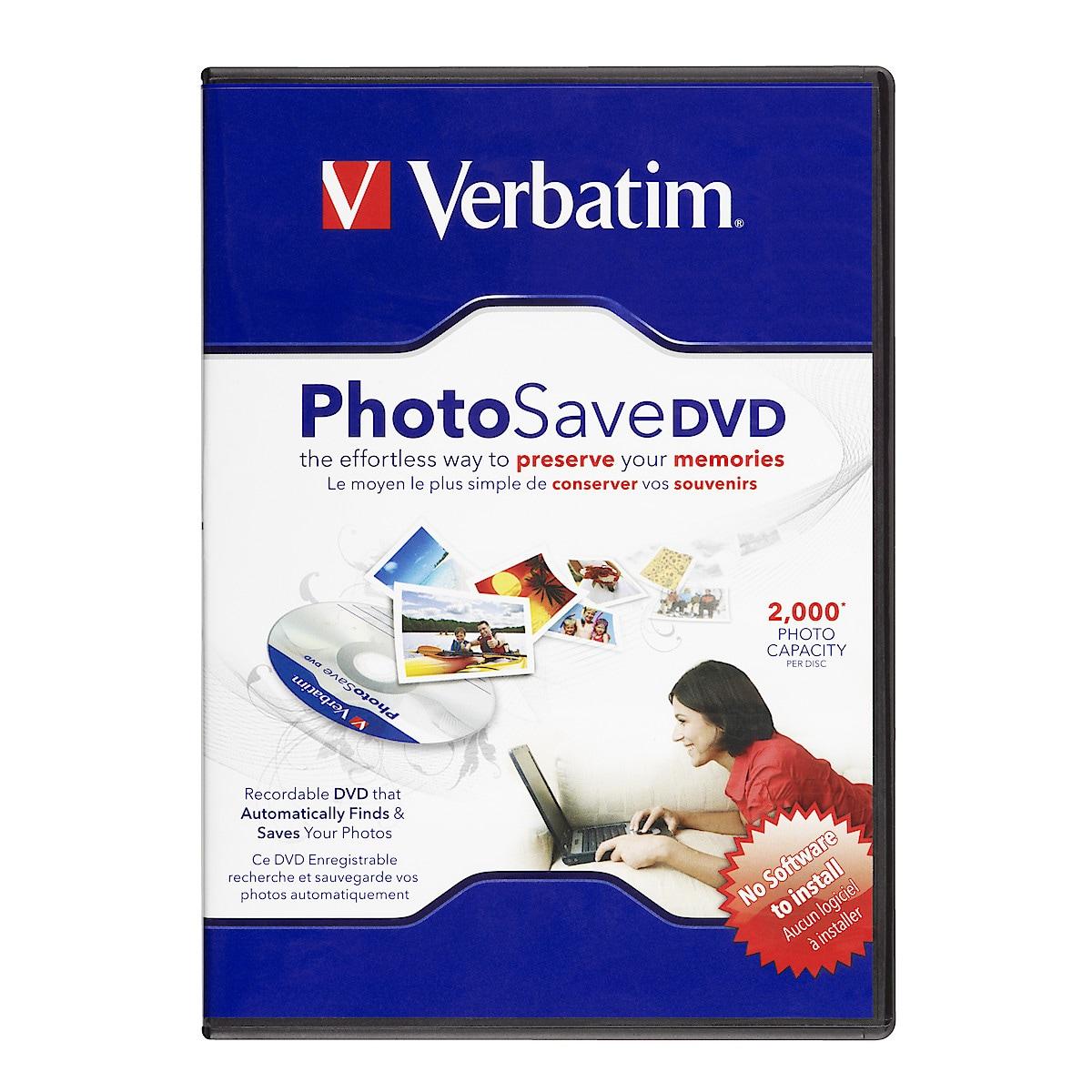 Verbatim Photo Save DVD