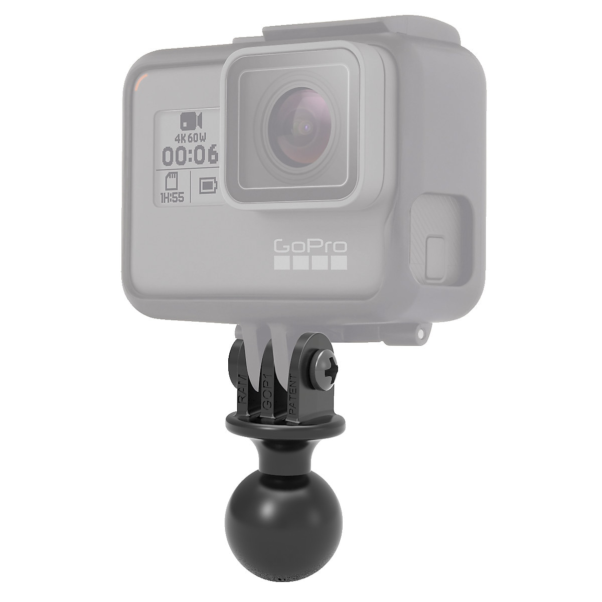 Sovitin GoPro-actionkameralle, Ram Mounts