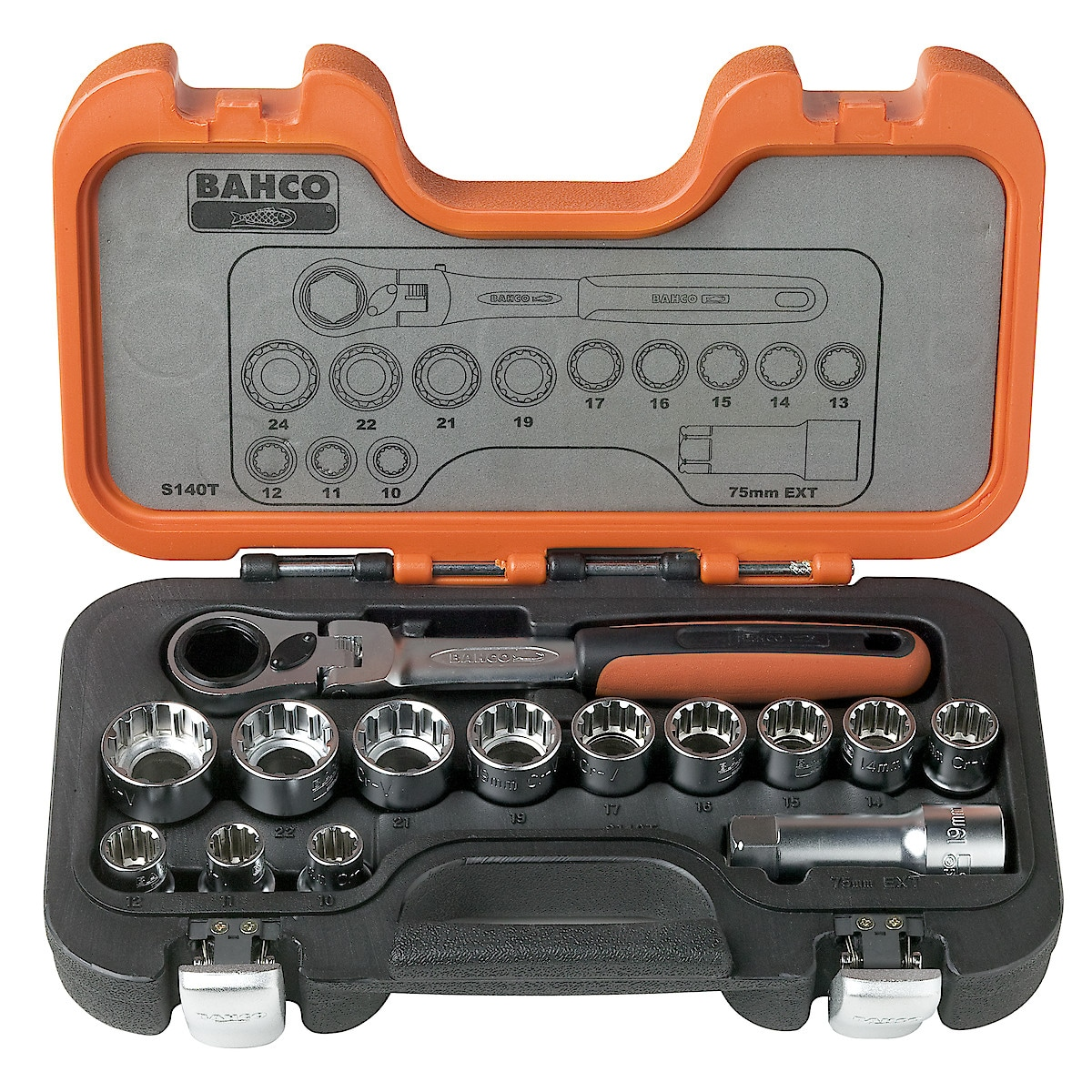 Bahco 14-Piece Socket Set