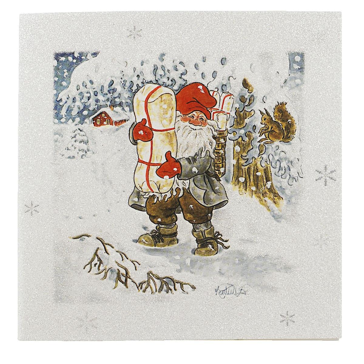 Joulukortti luksus