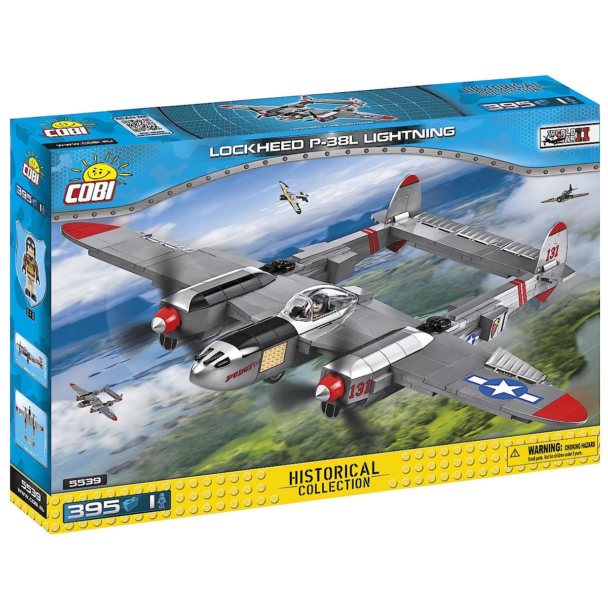 Rakennussarja Cobi, Lockheed P-38L Lightning