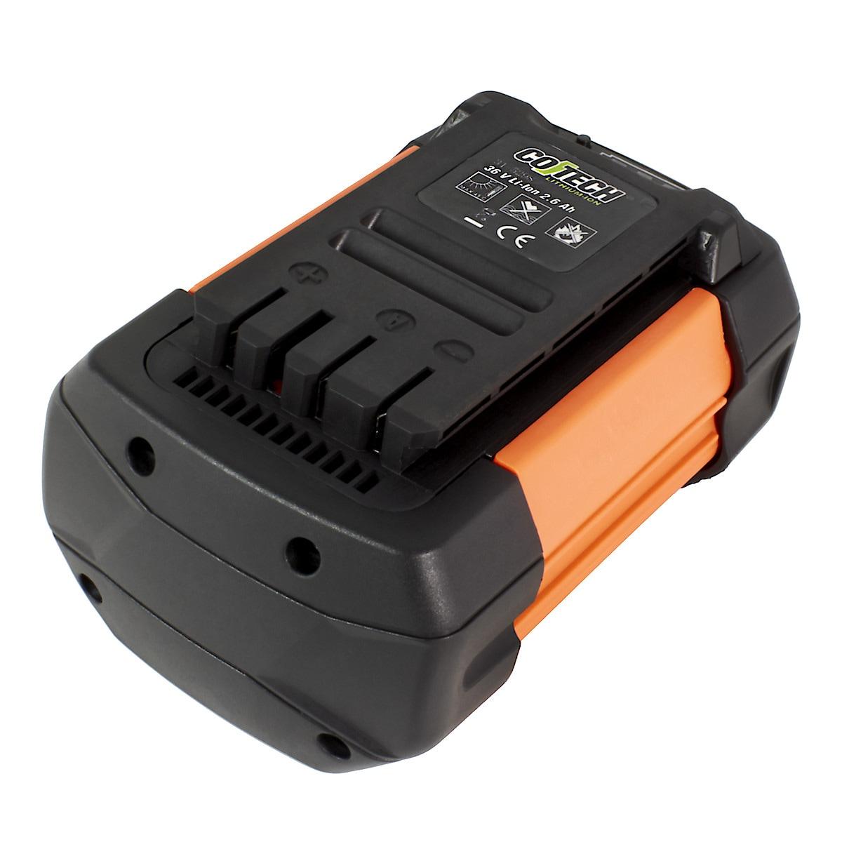 Batteri Cotech 36 V/2,6 Ah LI