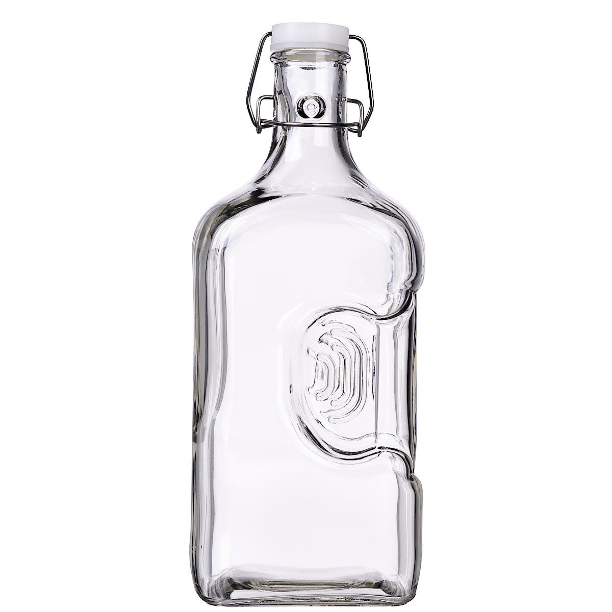 Grippable Glass Bottle