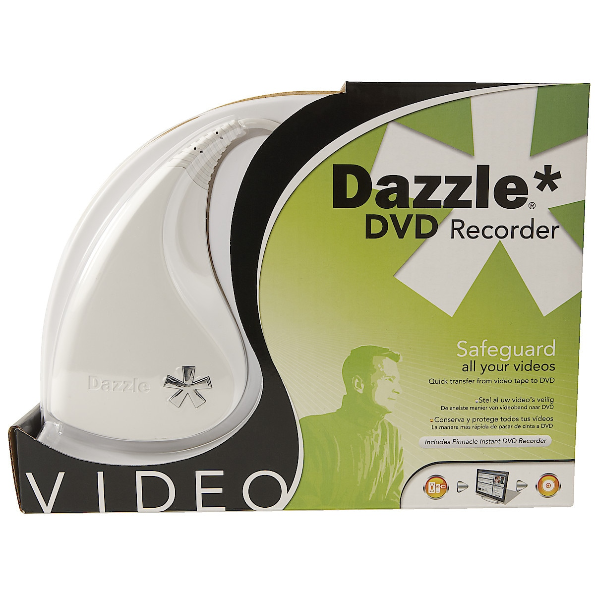 USB 2.0 Video-interface Pinnacle Dazzle DVD Recorder
