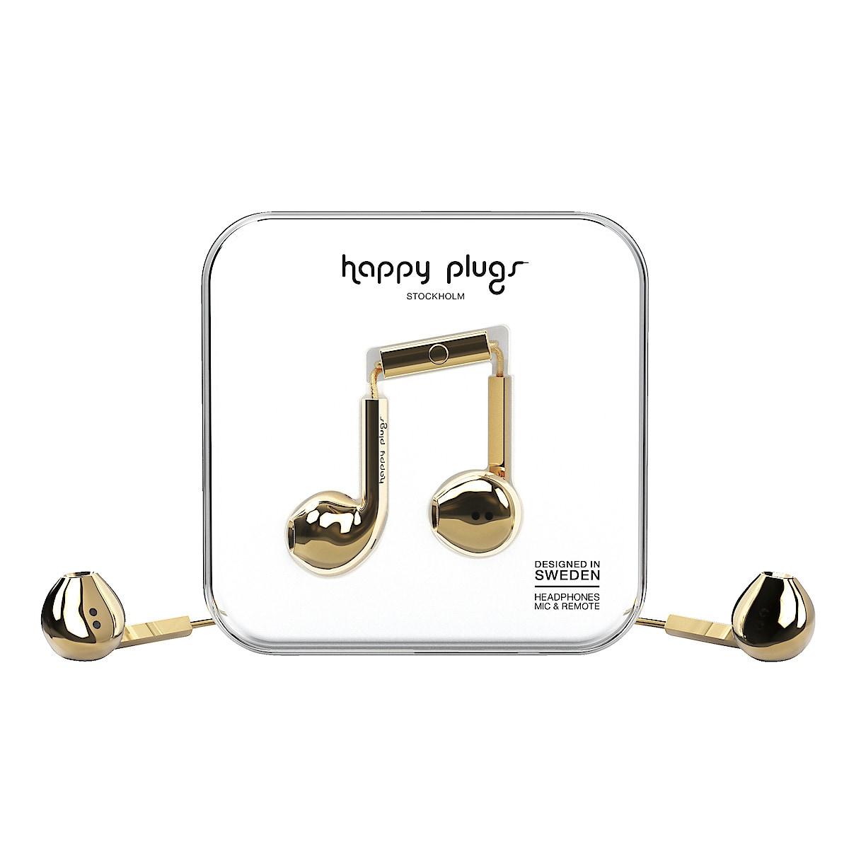Kuulokkeet ja mikrofoni Happy Plugs Earbud Plus Deluxe Edt